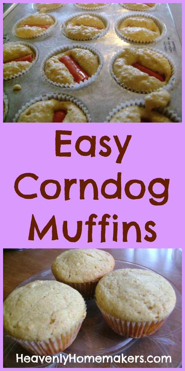 Easy Corndog Muffins