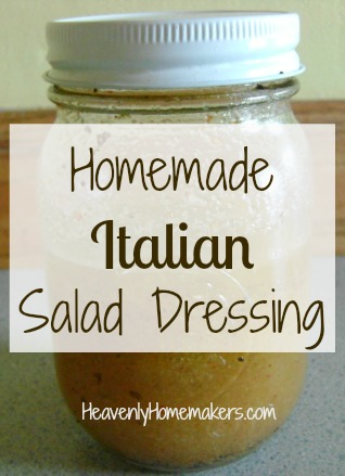 More Healthy Salad Dressing Recipes Italian And Thousand Island Heavenly Homemakers