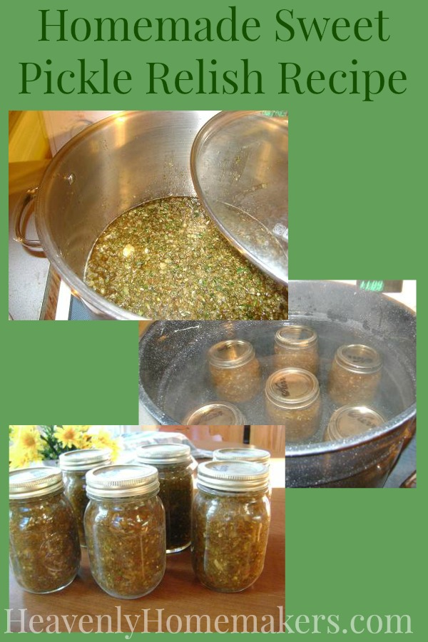 How To Make Sweet Pickle Relish The Healthier Way Heavenly Homemakers