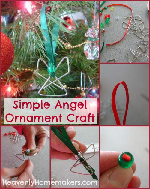 Simple Angel Ornament Craft