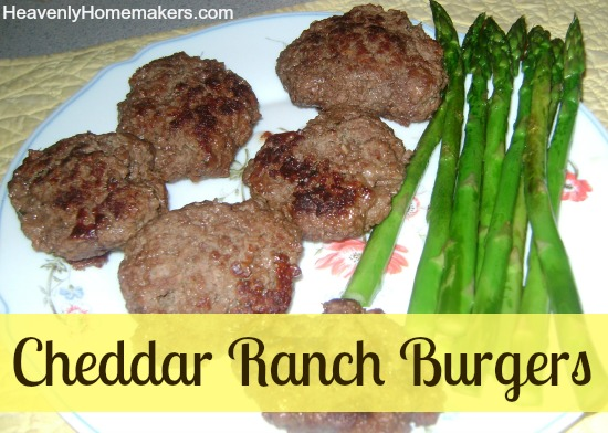 Cheddar Ranch Burgers