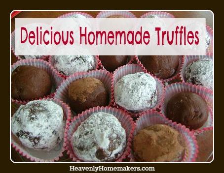 Delicious Homemade Truffles