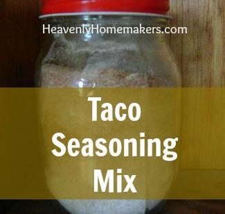 Taco Seasoing Mix