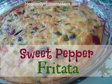 Sweet Pepper Fritata