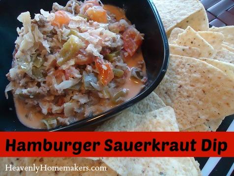 Hamburger Sauerkraut Dip