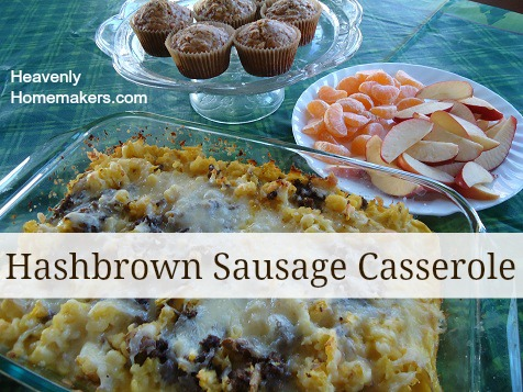 Hashbrown Sausage Casserole