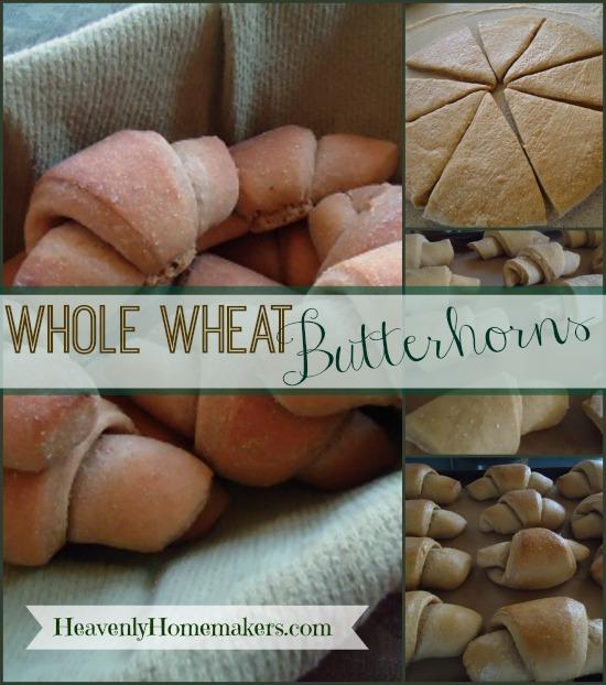 Whole Wheat Butterhorns