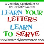 Learn Your Letters, Learn to Serve