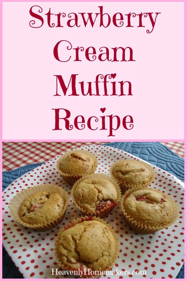 Strawberry Cream Muffin Recipe