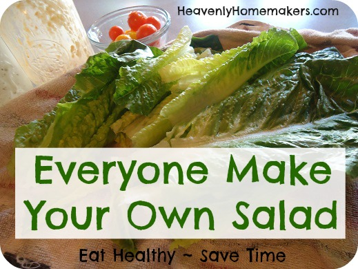 Everyone Make Your Own Salad