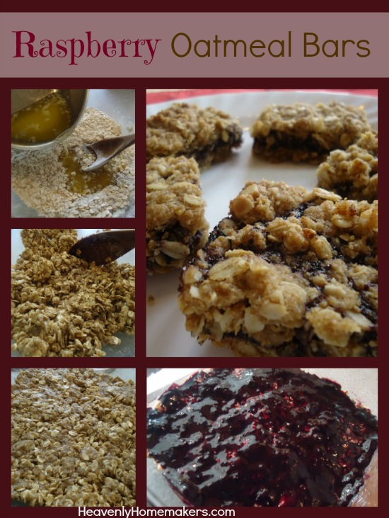 Raspberry Oatmeal Bars 11