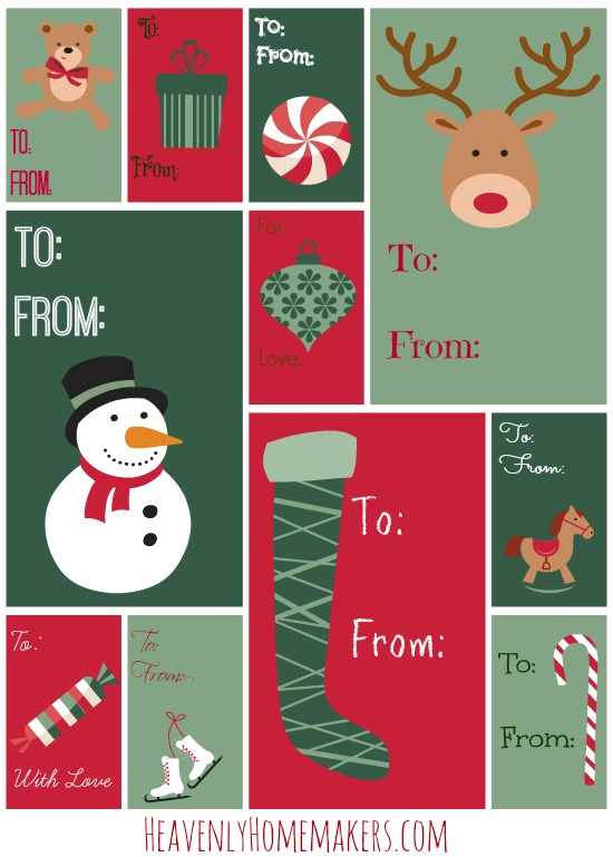 Christmas Gift Tags HHM