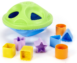 green toys shape