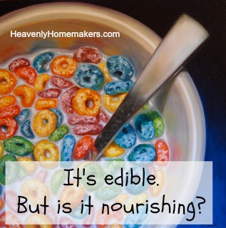 Is It Nourishing