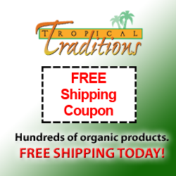 tropical traditions free shipping