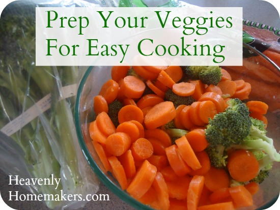 Prep Your Veggies for Easy Cooking