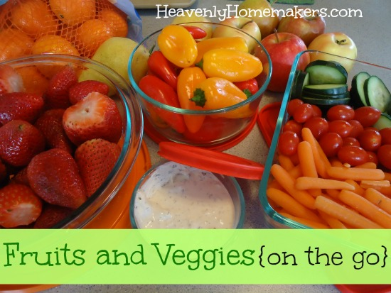 Fruits and Veggies On the Go