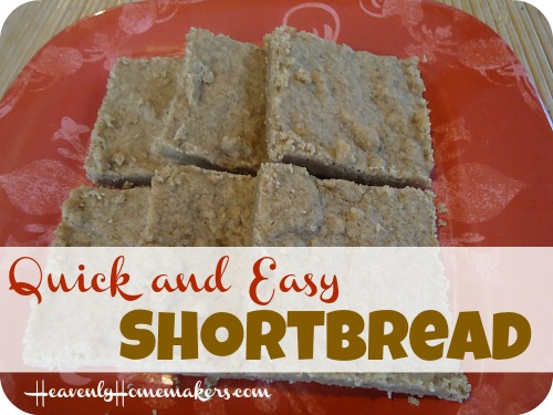 Quick and Easy Shortbread