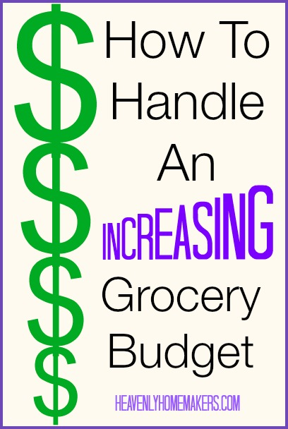 How to Handle an Increasing Grocery Budget
