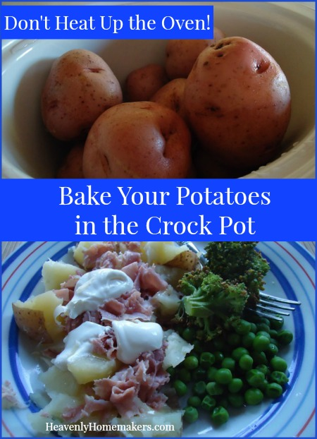 Bake Your Potatoes in the Crock Pot