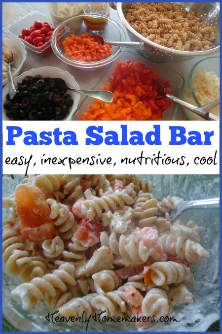 Pasta Salad Bar