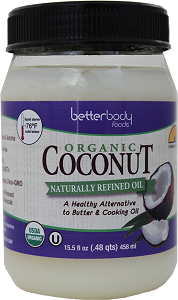 betterbody coconut oil