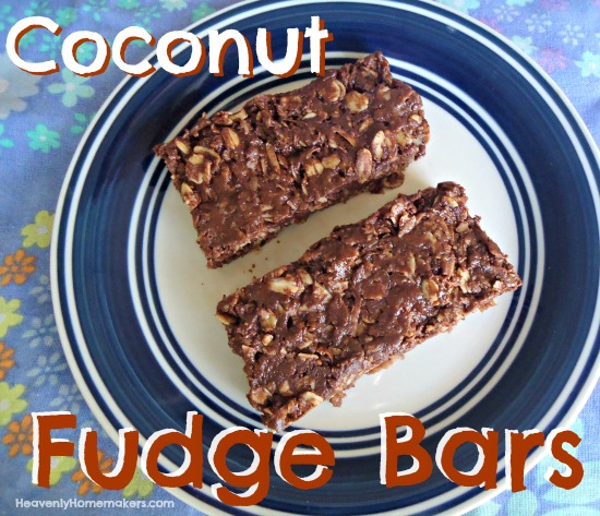 Coconut Fudge Bars