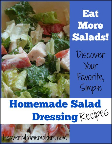 Favorite Simple Homemade Salad Dressing Recipes 2