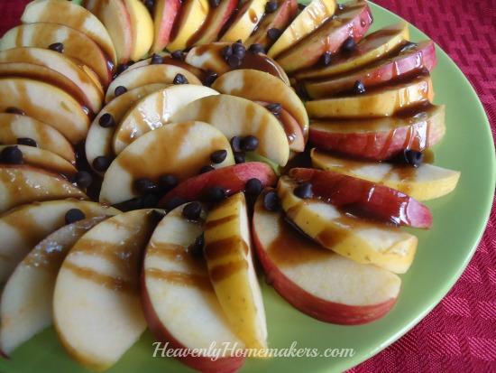 Apple Nachos - Easy!