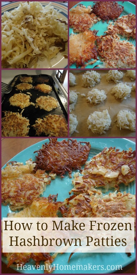 How to Make Frozen Hashbrown Patties
