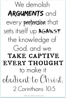 Take Every Thought Captive 2