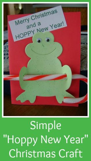 Hoppy New Year Christmas Craft