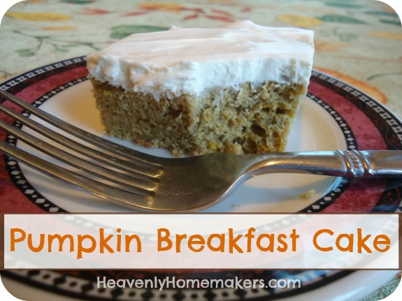 Pumpkin Breakfast Cake2