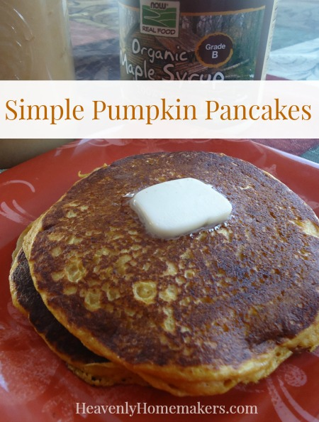 Simple Pumpkin Pancakes