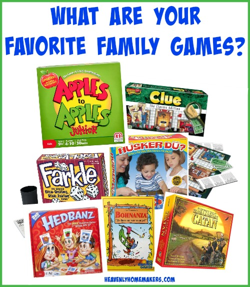 What Are Your Favorite Family Games