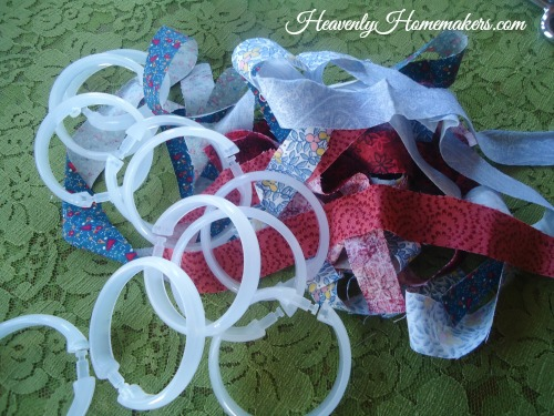 Fabric Bracelet Supplies