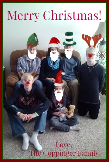 Merry Christmas from the Coppingers 2014