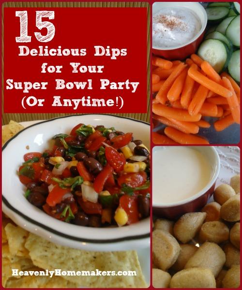 15 Delicious Dip Recipes