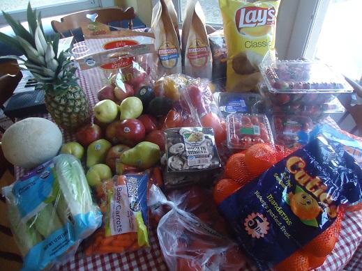jan 28 groceries