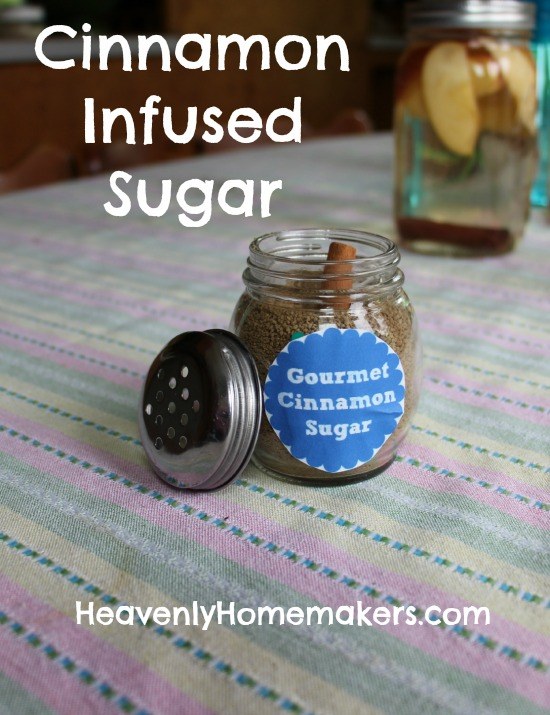 Cinnamon Infused Sugar