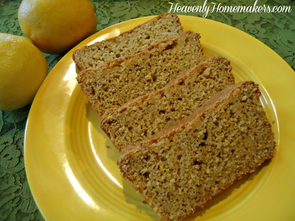 Low Sugar Lemon Bread2