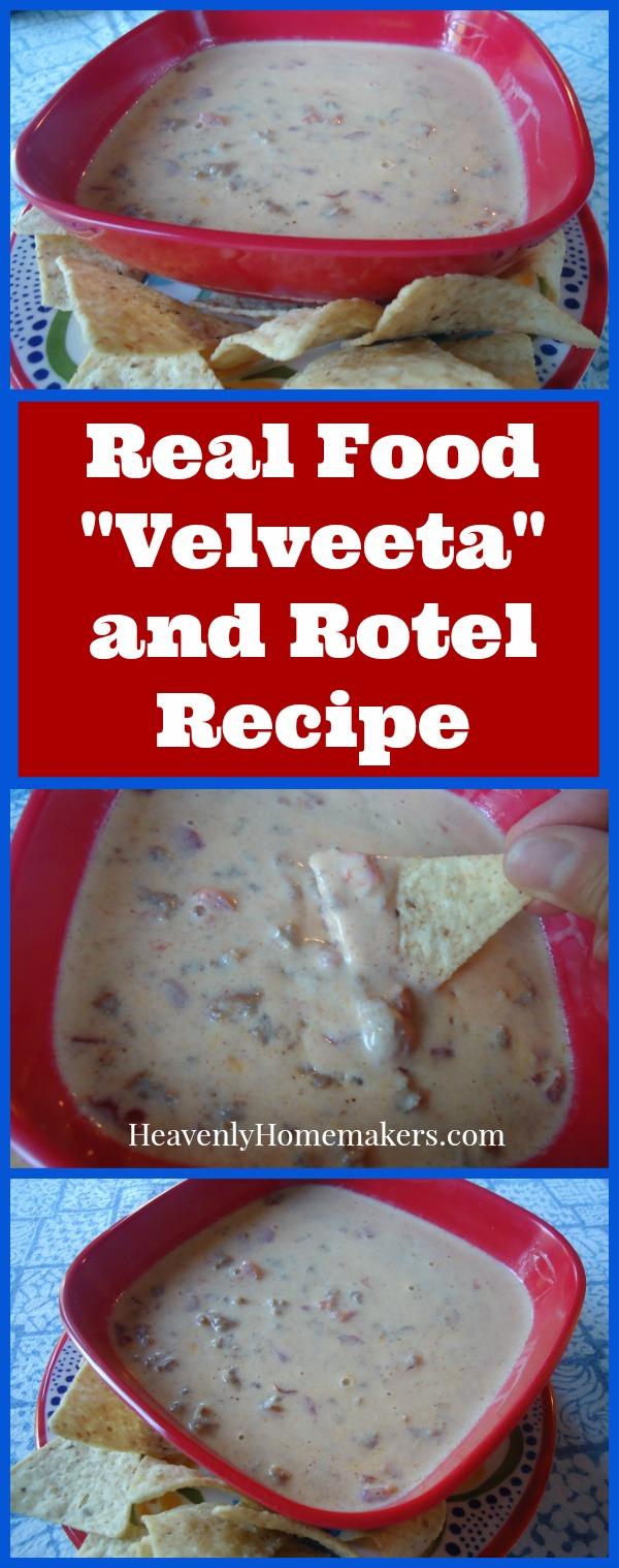 Real Food Velveeta and Rotel Recipe