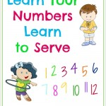 Learn Your Numbers, Learn to Serve