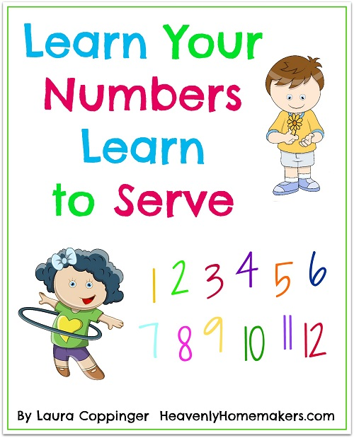 Learn Your Numbers Learn to Serve cover sm
