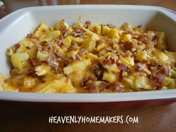 Bacon Baked Potato Casserole