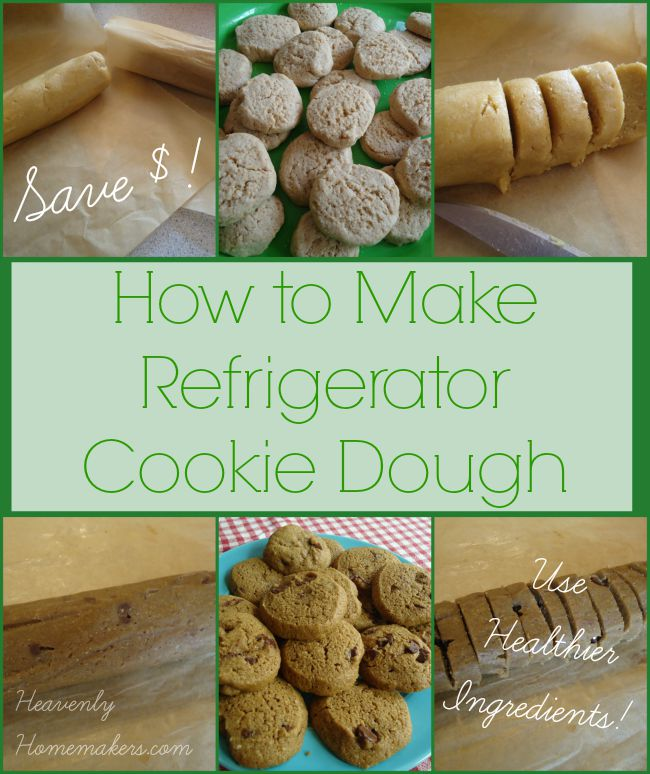 How to Make Refrigerator Cookie Dough