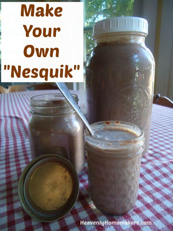 Make Your Own Nesquik