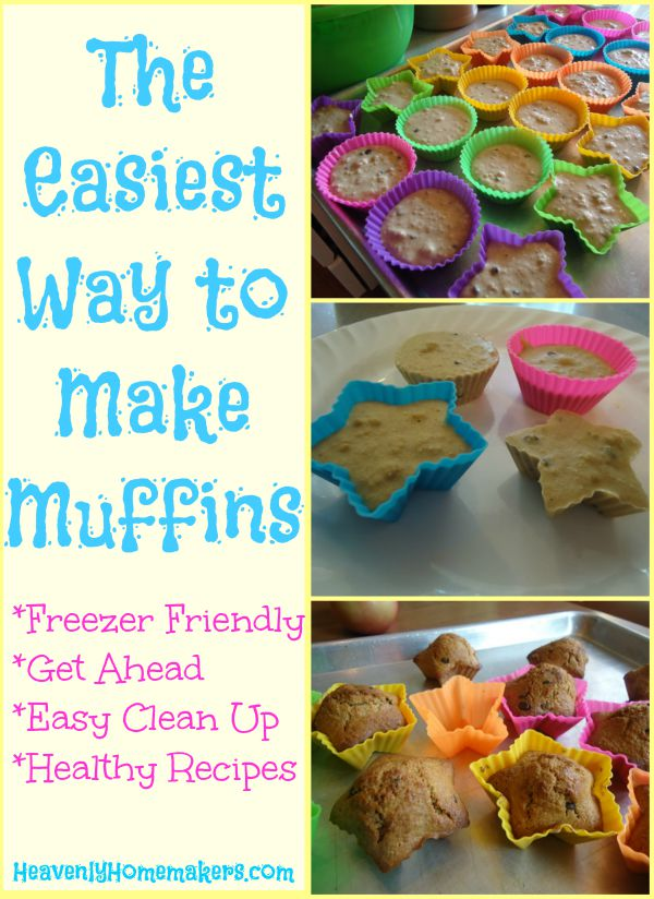 The Easiest Way to Make Muffins