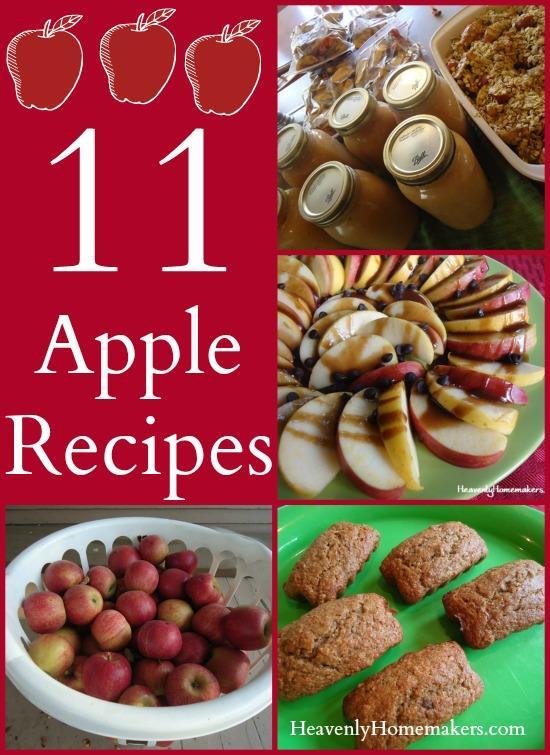 11 Apple Recipes