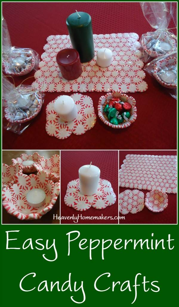 Christmas Candy Craft Ideas.Fun And Easy Christmas Crafts To Make With Peppermints